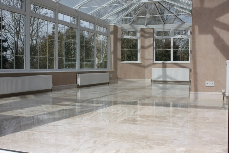 marble floor polishing