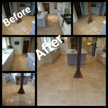limestone floor restoration